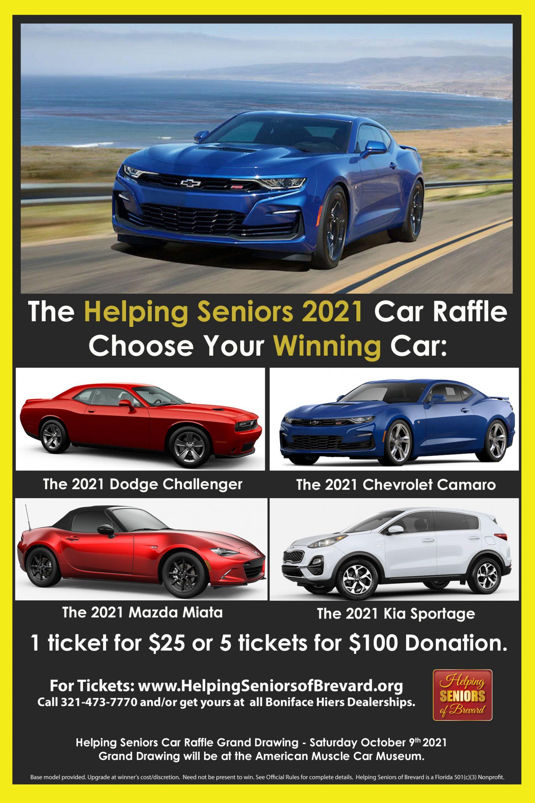 Helping Senior Car Raffle